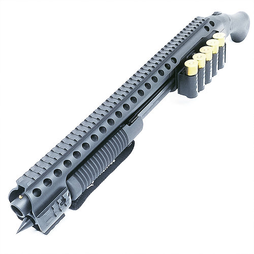 Black Aces Mossberg Shockwave Tactical Rail And Shell